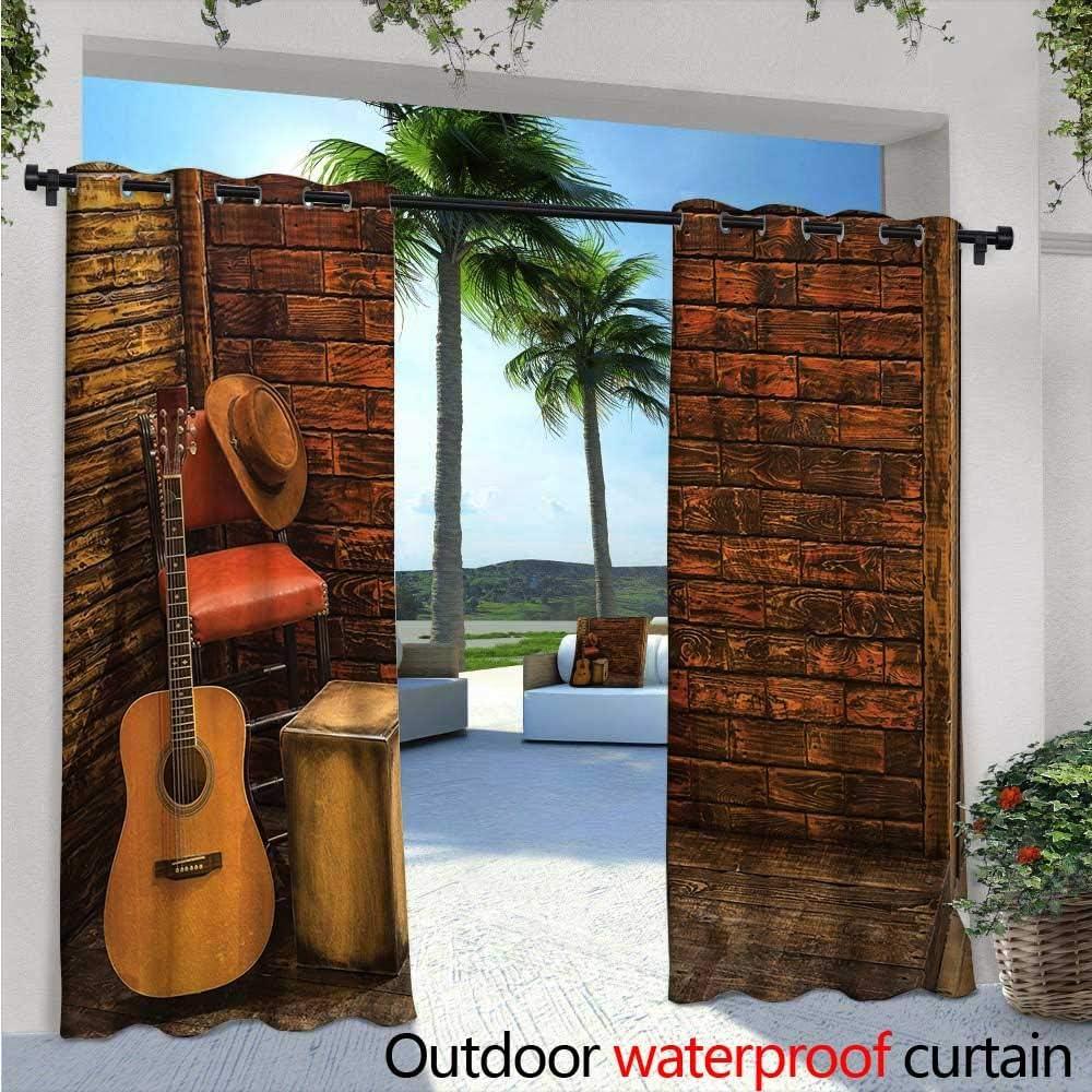 Cortina de privacidad con diseño de pérgola y jazz para el aire libre, ideal para jugar en el escenario con Singer e ilustración de luces de neón, con aislamiento térmico, repelente al