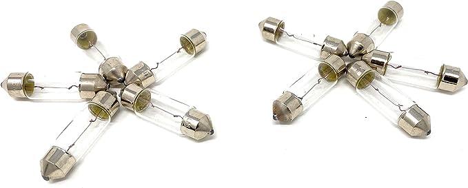 Lima 10 X Stück Soffitte Stift Lampe 36mm C5w 5 Watt 12v Glühbirne Angebot Neu 01275 Auto