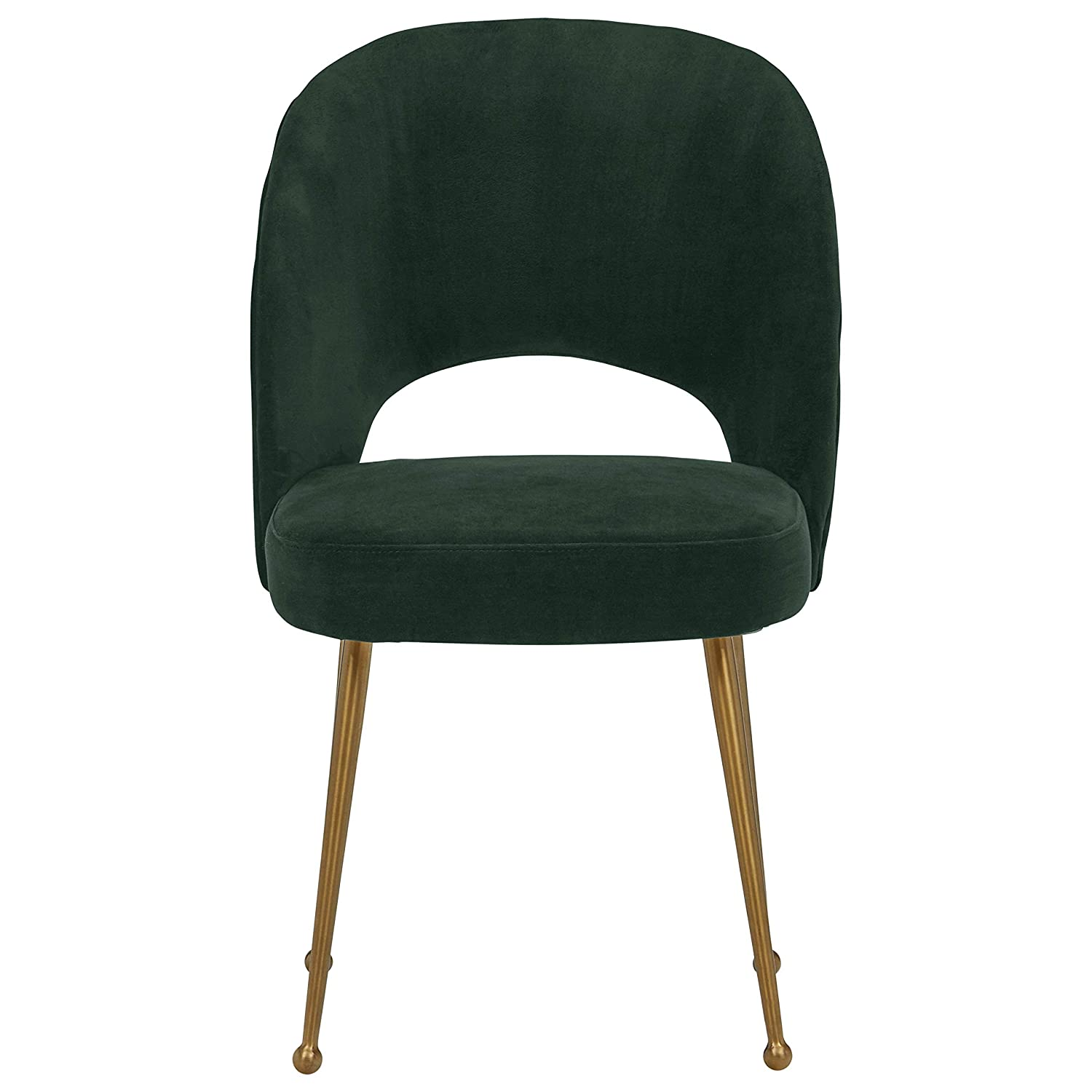 Rivet Clarice Dining Room Kitchen Chair Open Back, 33