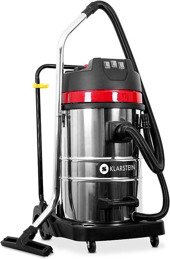 Klarstein IVC-80 - Aspiradora Industrial (80 L, 3000 W, 22,31 kPa ...