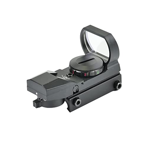 Amazon.com : Shootmy 4 Reticles Holographic Reflex Sight Red and Green Dot Scope 1x23x34, (Black) : Sports & Outdoors