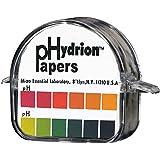 Micro Essential Lab 50 Polystyrene Hydrion Wide Range pH Test Paper Dispenser, 1 - 12 pH, Single Roll