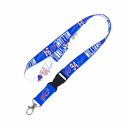 befc3d211e4 Image Unavailable. Image not available for. Color  NFL Buffalo Bills Mario  Williams Lanyard ...