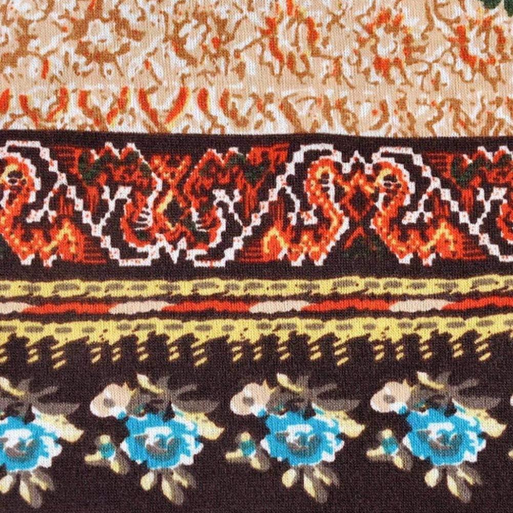 Chapeau de Style Femme Style boh/ème Bonnet en Coton Confortable Chapeau imprim/é Multifonctionnel