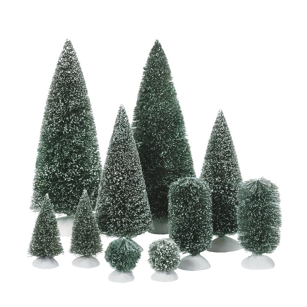 Set of Mini Pine Trees
