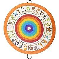 Poema & Rosa Oyun halısı ve oyuncak saklama çantası |140 cm. çap | Çocuk yer halısı: öğrenirken eğlenir | İplerinden…