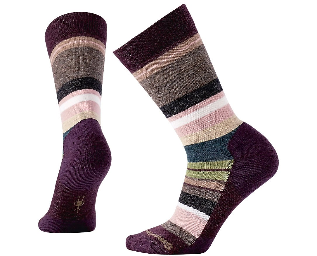 Smartwool PhD Outdoor Light Crew Socks - Women's Saturnsphere Wool Performance Sock by Smartwool