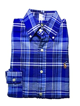 3651cfc08 Image Unavailable. Image not available for. Color  Polo Ralph Lauren Mens  Long Sleeve Oxford Button Down ...