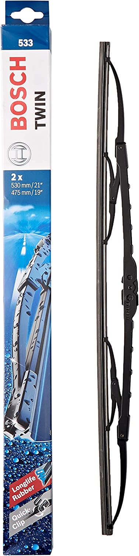 Bosch Scheibenwischer Twin 533 Länge 530mm 475mm Set Für Frontscheibe Auto