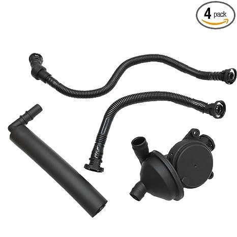 Amazon.com: Crankcase Breather Vent Valve + Hose Kit for BMW E46 E90 E91 E81 E83 X 3 Z4 318i: Automotive