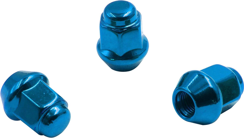 Wheel Accessories Parts Install Kit Blk M17 Hex Bulge Acorn - M10 1.25 4 Lug ATV /& UTV