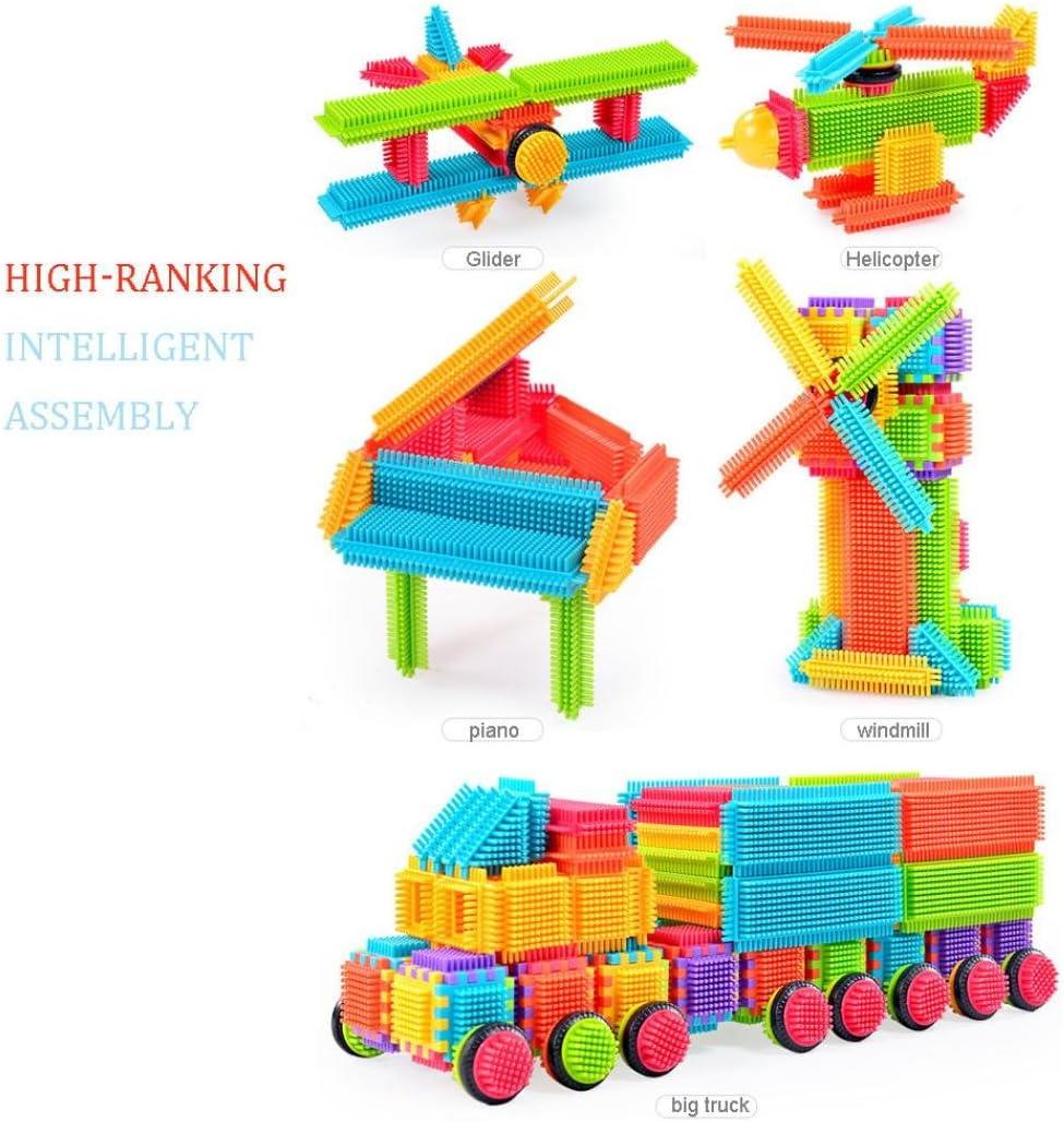 Bloques Juguetes Construcción Juego Paellaesp 100pcs forma de cerda 3D Building Blocks azulejos: Amazon.es: Juguetes y juegos