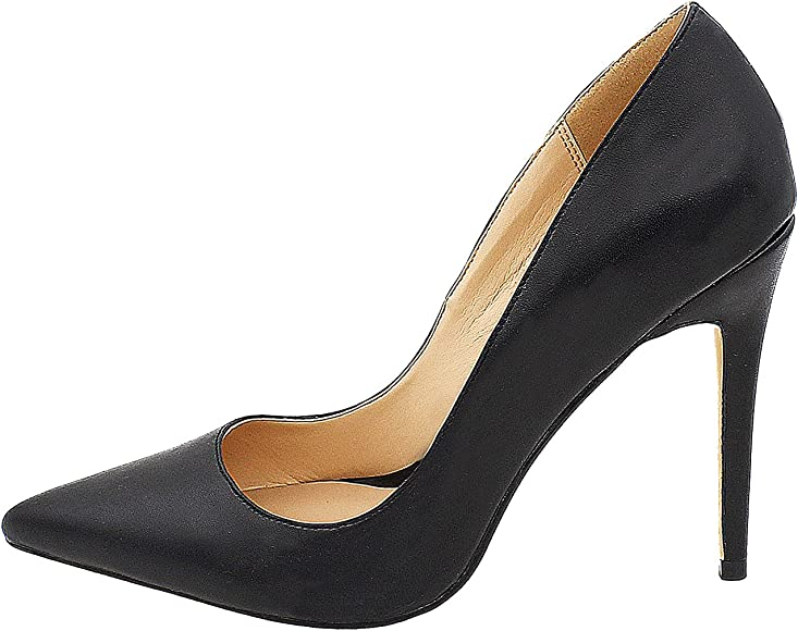 Pointy Toe 4 inch High Heels Slip-on