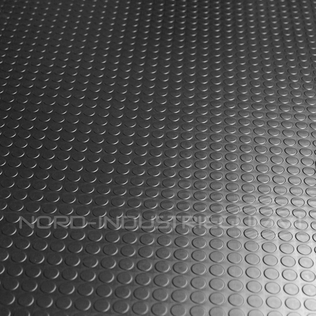 5m/² Noppenmatte Premium 1,20m x 4,17m 3mm St/ärke Schwarz