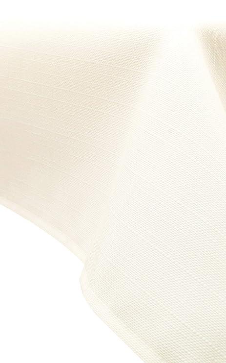 ZOLLNER® Mantel/Mantel Rectangular Antimanchas resinado en Color Marfil, Medidas 140x180 cm, Medidas, del especialista en Textiles para hostelería, ...