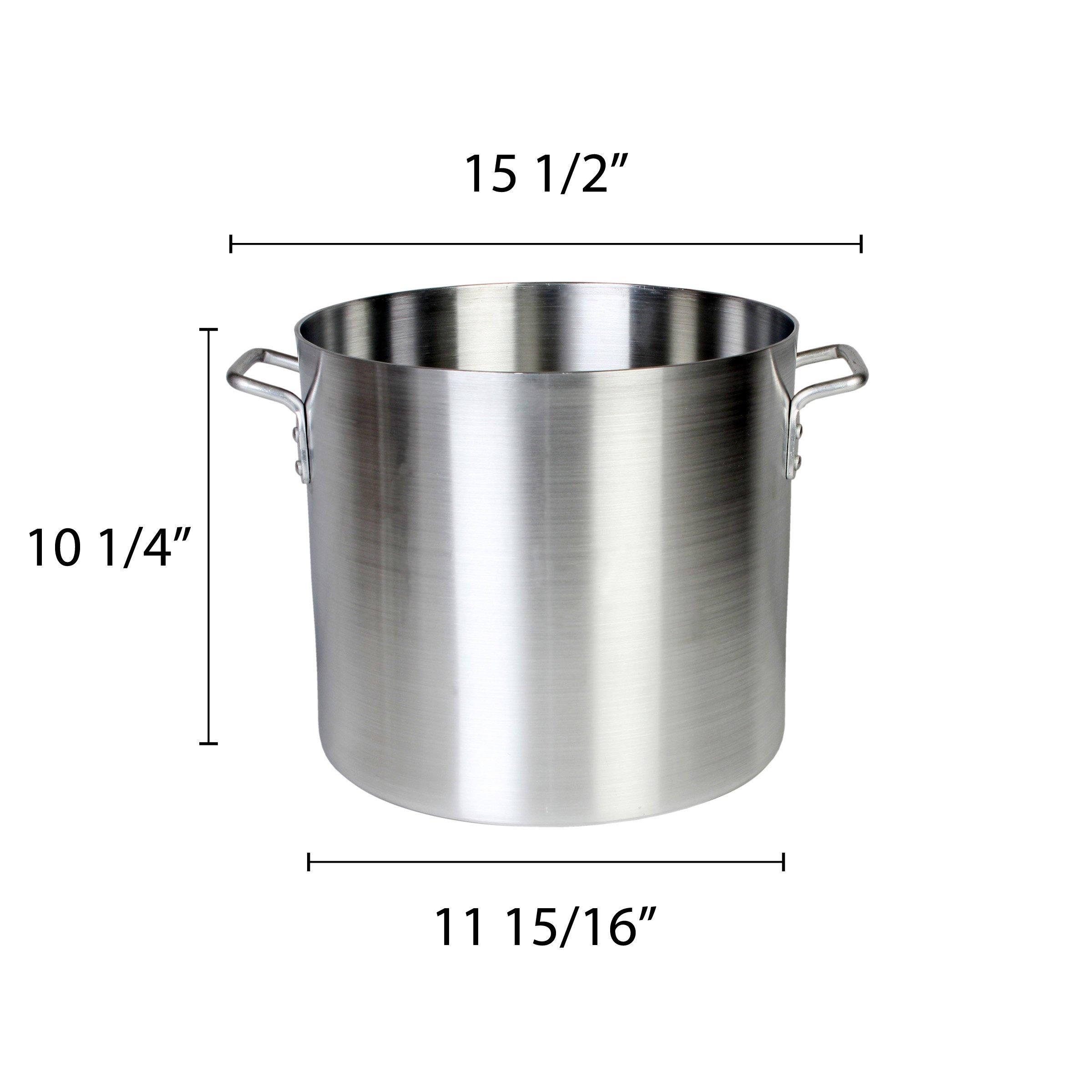 Thunder Group 20 Quart Aluminum Stock Pot by Thunder Group (Image #2)