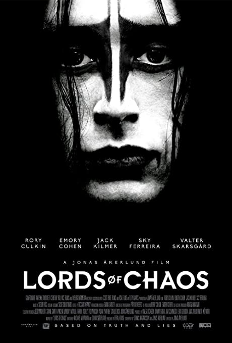 Lionbeen Lords of Chaos Movie Poster Cartel de la Pelicula ...