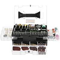 349 pcs Meterk Grinding Polishing Drilling Rotary Tool Accessories Kit