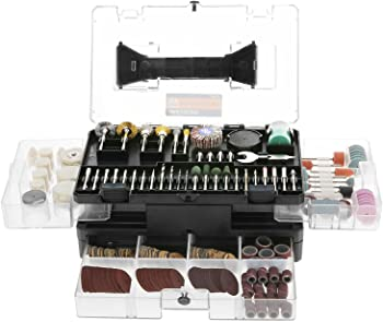 349-Piece Meterk Grinding Polishing Drilling Rotary Tool Accessories Kit