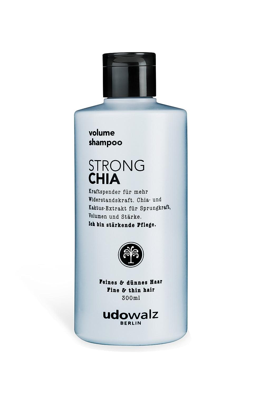 Udo Walz Hairfood Volumen Shampoo Strong Chia 1er Pack 1 X 300 Ml