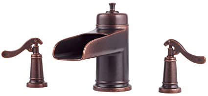 Pfister Ashfield 2-Handle Roman Tub Faucet, Rustic Bronze - Bathroom ...
