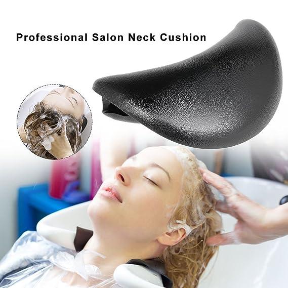 zroven Shampoo Bowl Gel Neck Rest Cushion Hair Salon Shampoo Bowl Neck Pillow Gripper Hair Washing Sink Basin Tool