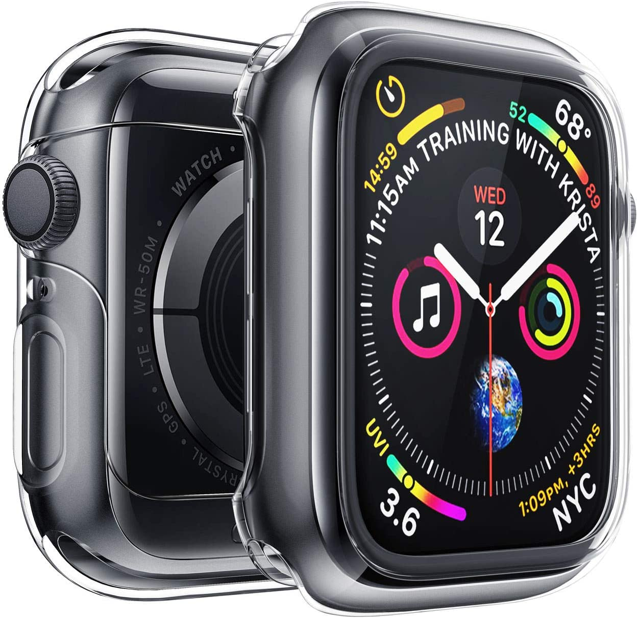 Apple Wat Watch Protector De Pantalla Serie 5 Serie 4 44 Mm,