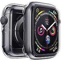 Penom Case for New Apple Watch SE Series 6 Screen Protector 40mm(2020), Apple Watch Series 5 Series 4 Case (40mm, Clear)