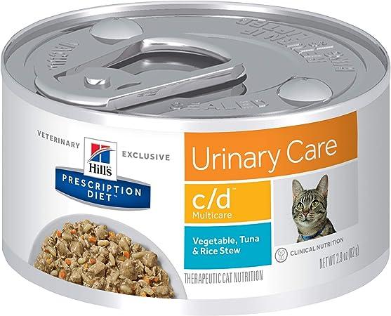 urinary diet cat wet food