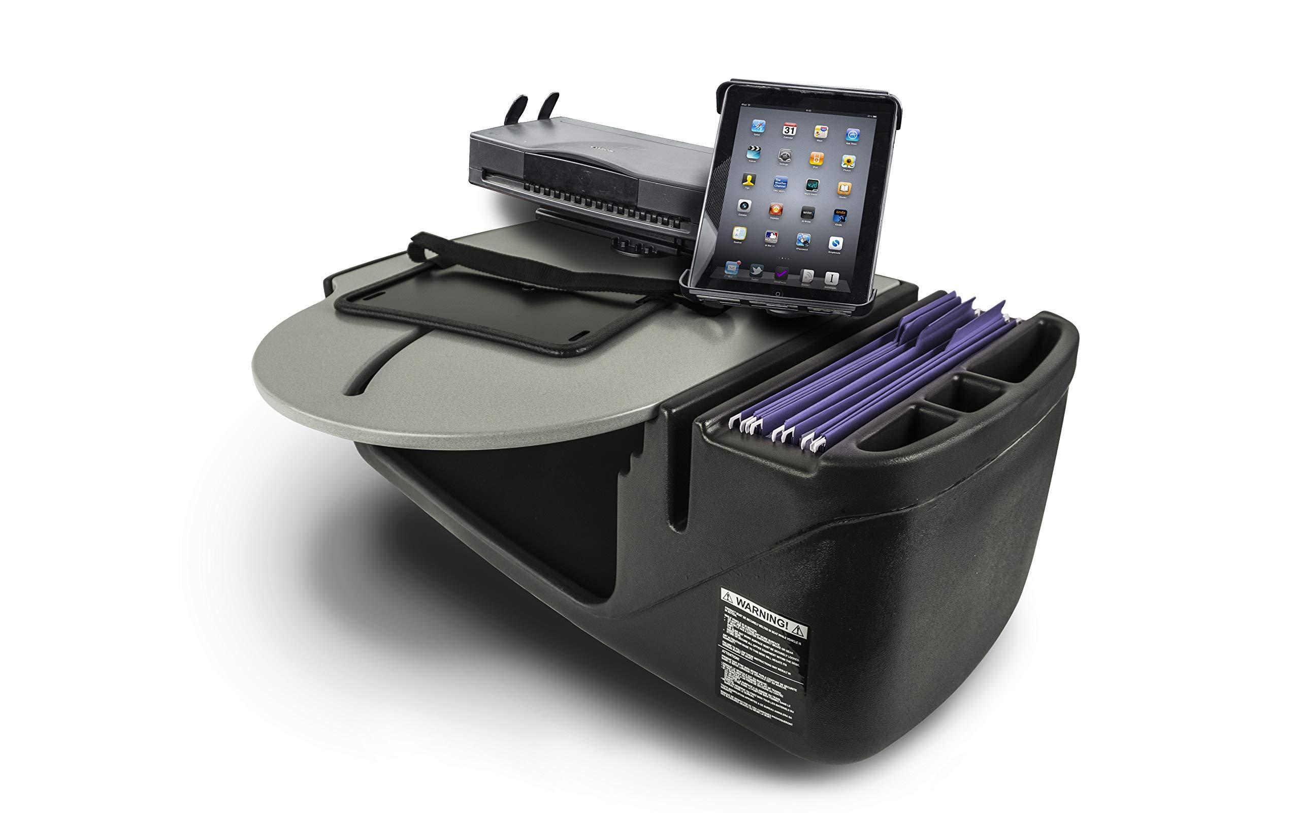 AutoExec AUE25150 RoadCar Grey Car Desk RoadCar-02-Tab