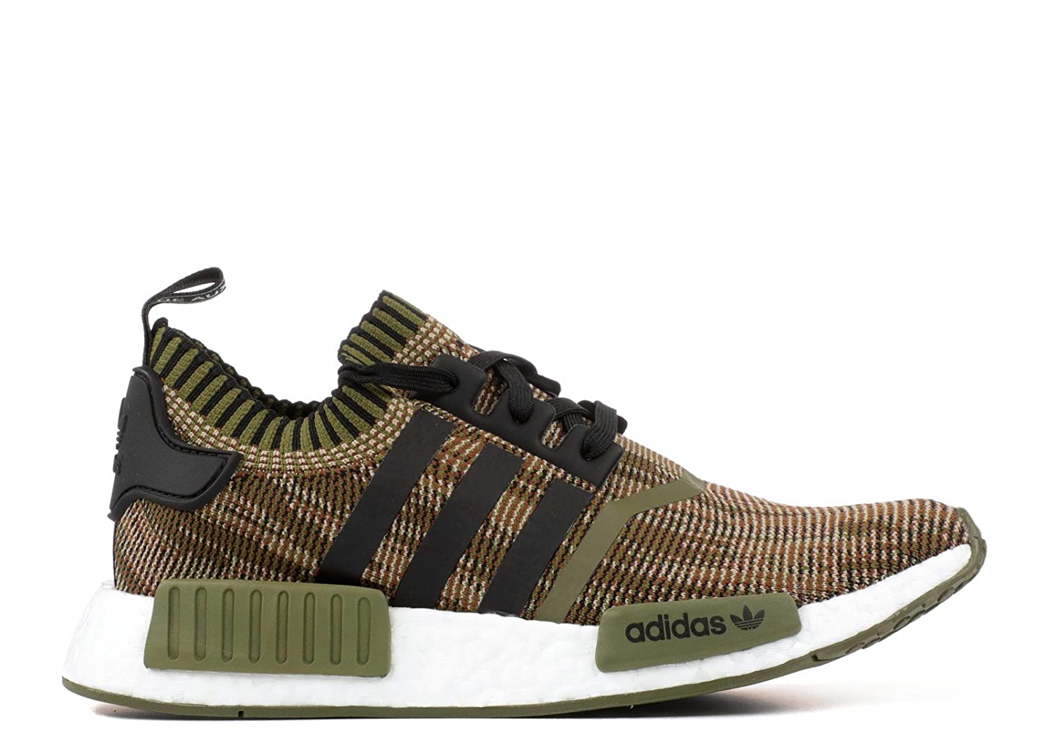 the latest f7752 96be3 Amazon.com | adidas NMD R1 - Cq1864 - Size 10.5 Black, Olive ...