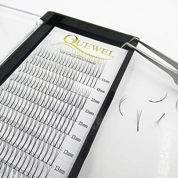71bb8783a16 Quewel Lash Russian Volume Eyelash Extensions 3D 4D 5D 6D C D Curl 8-15mm  Long
