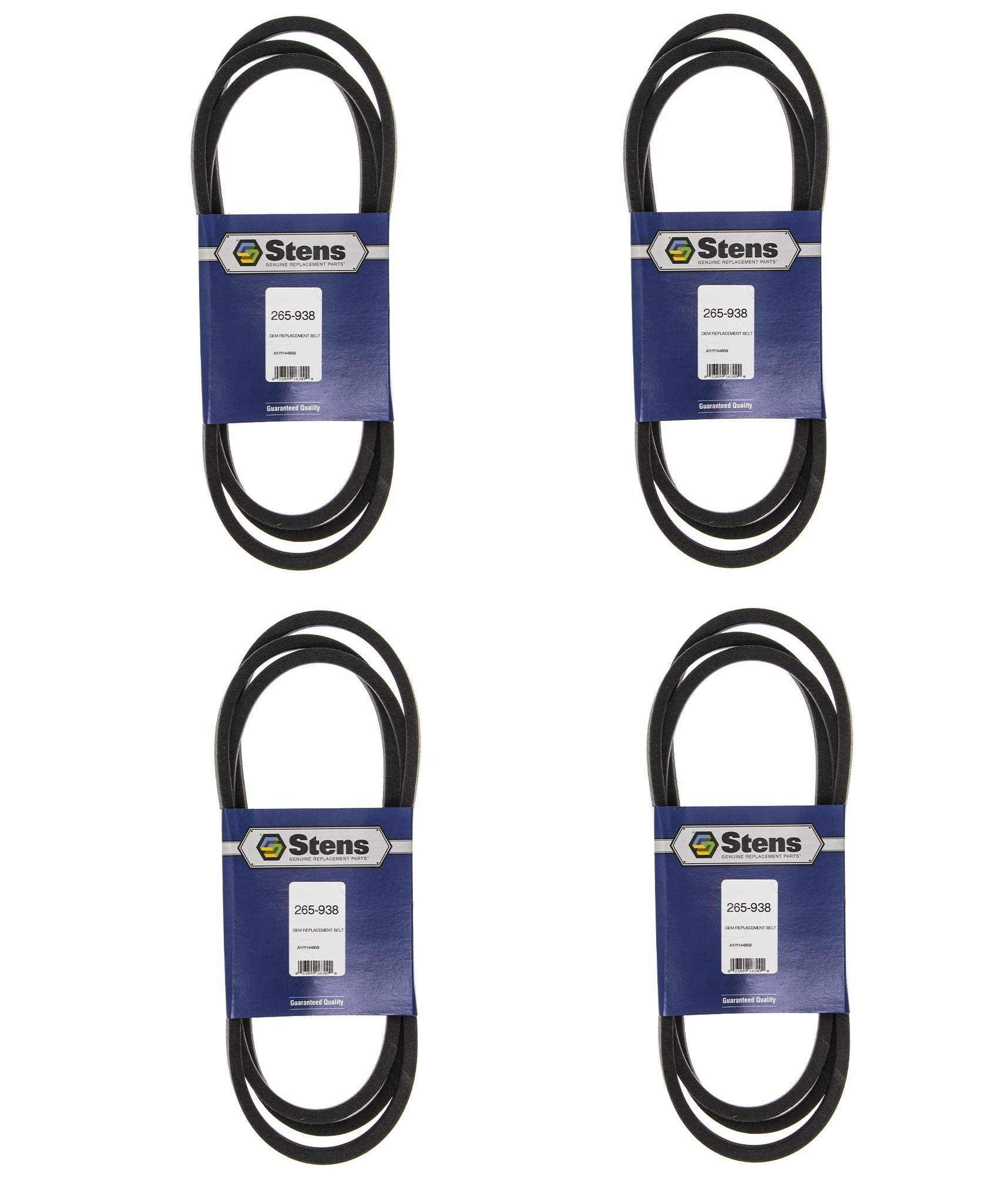 Stens 265-938 Replacement Belt, 95 1/2-Inch (Pack of 4) by Stens