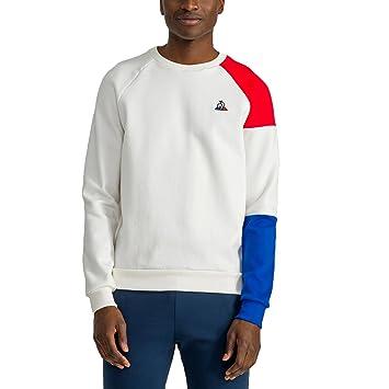 a28b08874878 Le Coq Sportif Tri LF BBR Crew Sweatshirt   2  Amazon.co.uk  Sports ...
