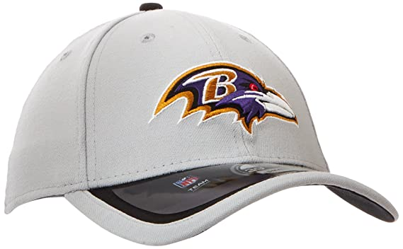 new concept bf6e9 93384 Amazon.com   NFL 2015 Gray   Team Color 39Thirty Stretch Fit Cap   Sports    Outdoors