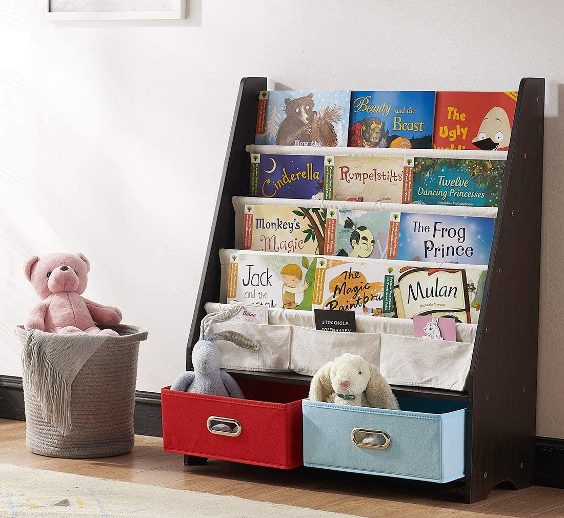 SEIRIONE Kids Bookshelf