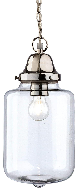 Firstlight 2348CH - Lámpara de techo (cromo y cristal ...