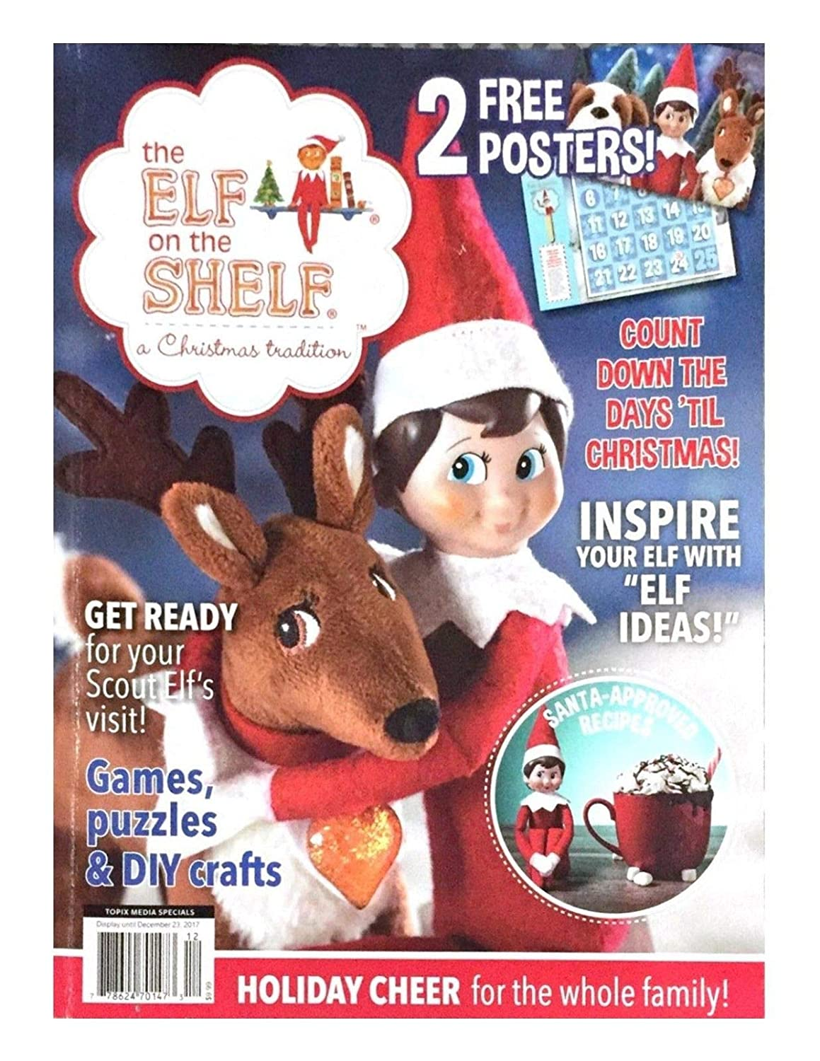 THE ELF ON THE SHELF A CHRISTMAS TRADITION MAGAZINE s3457