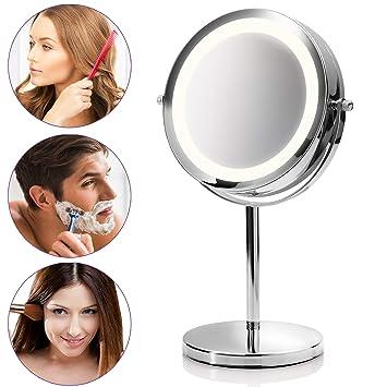 Led Badspiegel Verbraucher Zuerst 3 Fach Kosmetikspiegel Standspiegel Schminkspiegel Möbel & Wohnen Badzubehör & -textilien