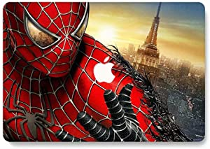 MacBook Pro 13 Case 2018 2017 2016 Model A1989/A1706/A1708, AJYX Matte Plastic Hard Case Shell Cover Compatible Newest MacBook Pro 13 Inch with/Without Touch Bar and Touch ID, w125 Spider Man