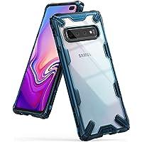 Capa Antichoque para Galaxy S10 Plus, RINGKE Fusion X [Híbrida][Air Cushion][Certificado MIL-STD 810G], Samsung Galaxy S10 Plus (Tela 6.4) (Space Blue)