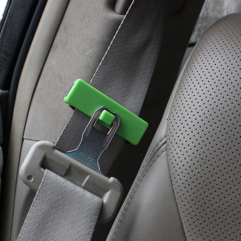 Car Seat Belt Clips Pair Black