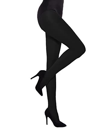 bb2cc3292dd80 40 Denier Semi Opaque Ladies Classic Tights with Gusset S - XL Tan Nude  Black (Size 4 - Large, BLack): Amazon.co.uk: Clothing