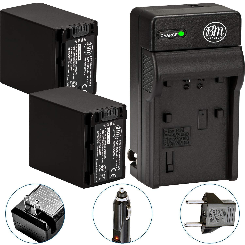 Amazon.com: Bm Premium 2-Pack de baterías y cargador de ...