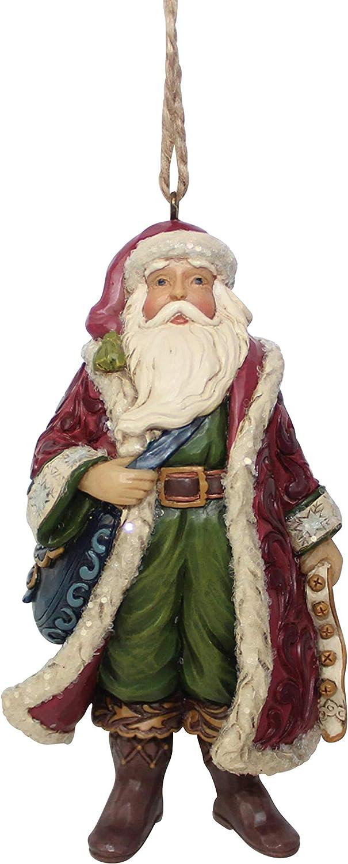 Heartwood Creek Victorian Santa Hanging Ornament