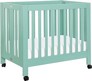 Babyletto Origami Mini Crib, Lagoon