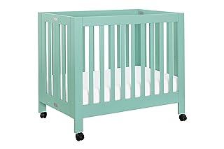 Babyletto Origami Mini Crib, Grey