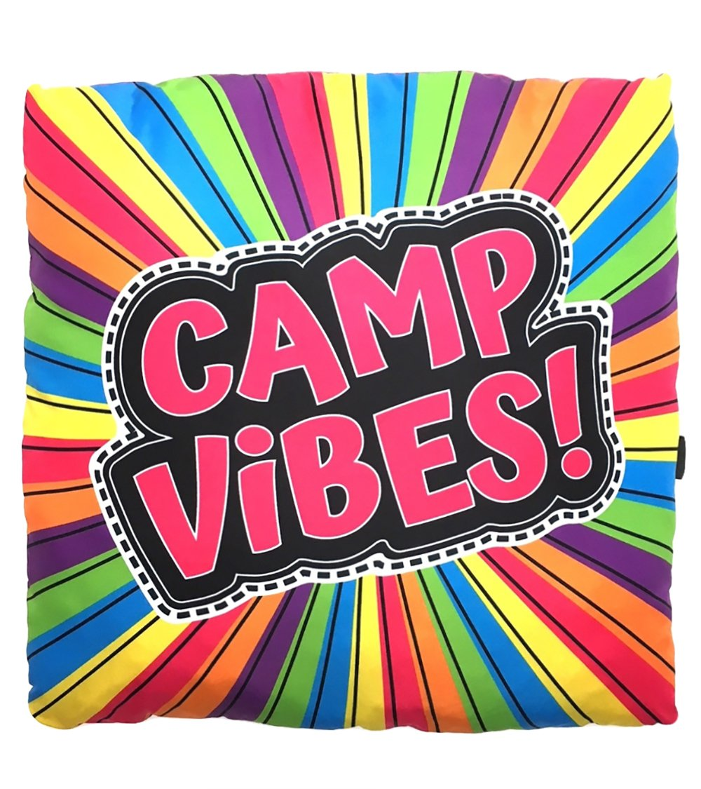 Camp Vibes Autograph Pillow by Gilbin