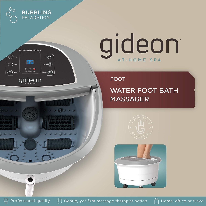 Amazon.com: Gideon Luxury Foot Spa Bath Massager with Heat – 4 ...