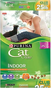 Purina Cat Chow Indoor Adult Dry Cat Food (22 lb)